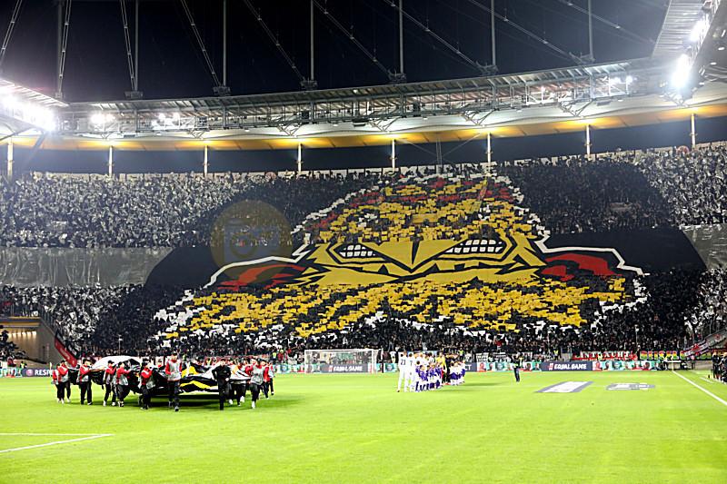 Frankfurt Rom Fussball